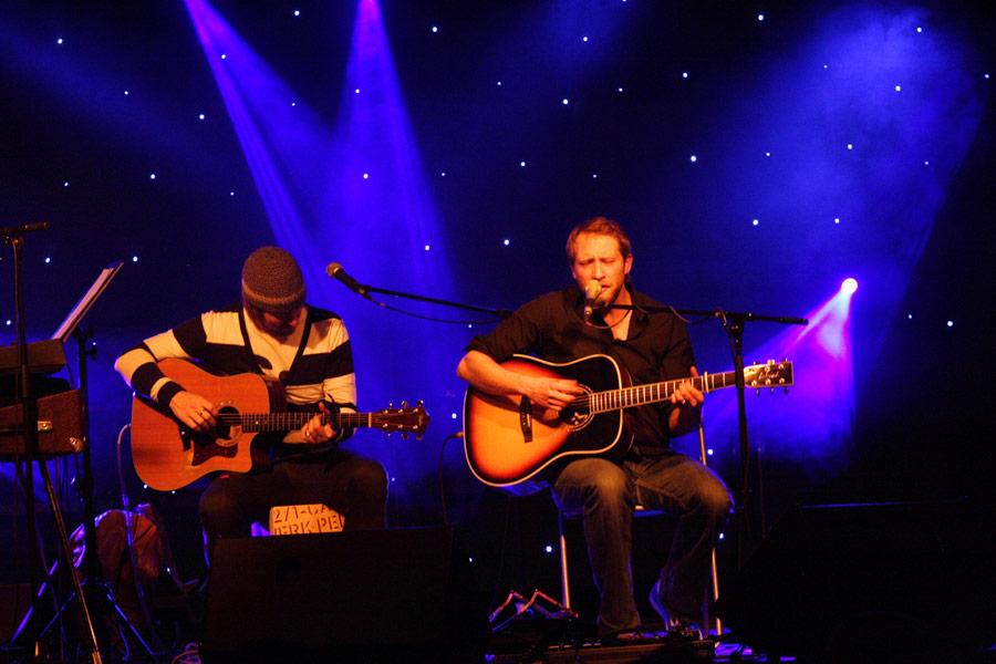 Steve Savage und Gregor Meyle