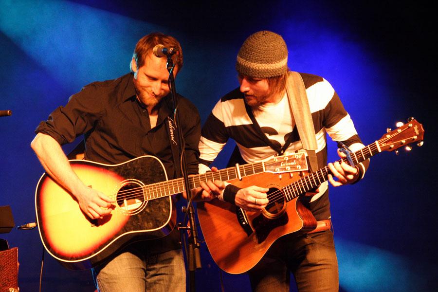 Gregor Meyle und Steve Savage