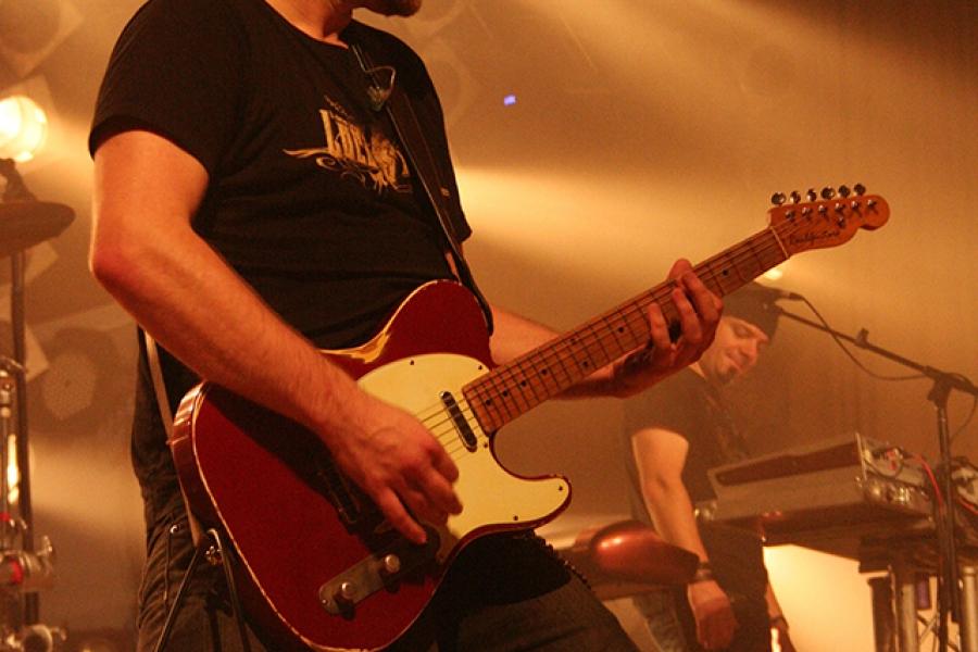 Luxuslärm Gitarrist